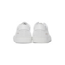 Common Projects White Perforated Achilles Low Sneakers
