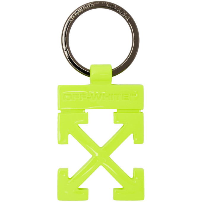 Photo: Off-White Yellow Arrows Keyring