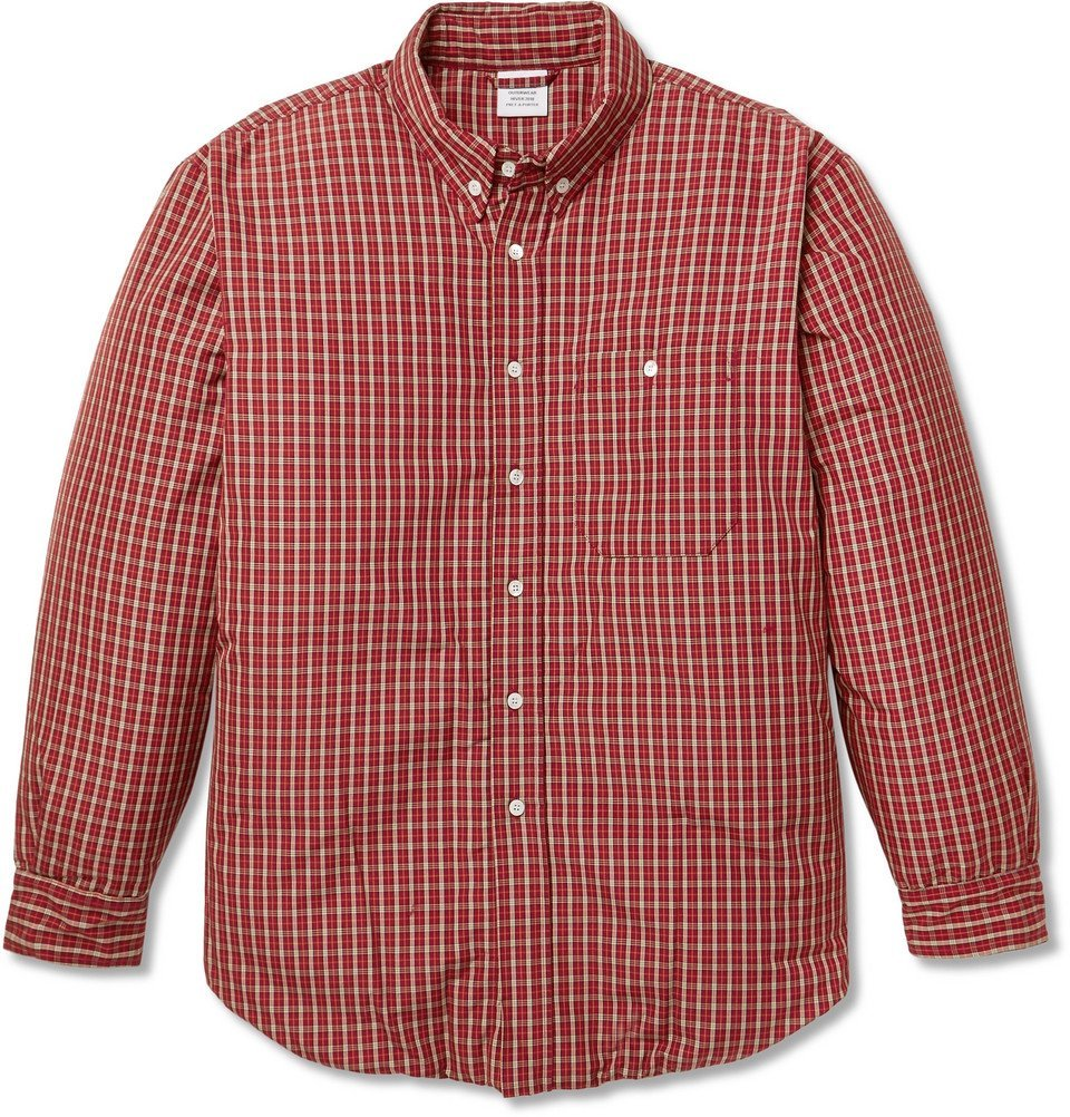 Photo: Vetements - Oversized Padded Woven Shirt Jacket - Red