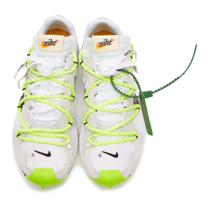 Nike White Off-White Edition Zoom Terra Kiger 5 Sneakers