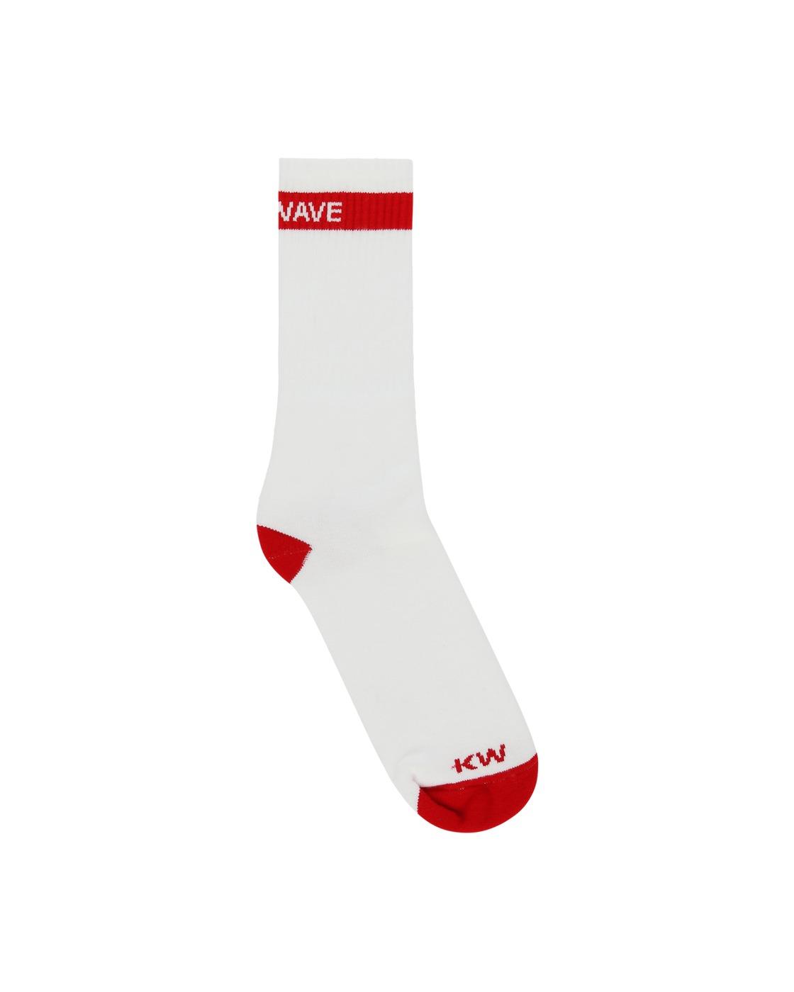 Photo: Know Wave On Loop Socks White/Red