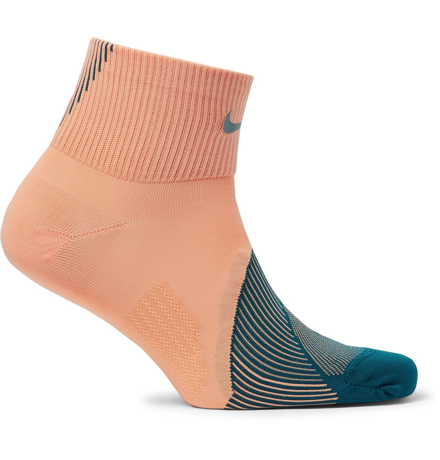 Photo: Nike Running - Spark Dri-FIT Socks - Orange