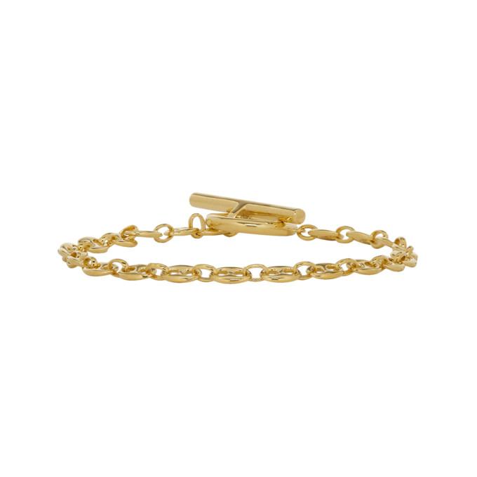 Photo: All Blues Gold Coffee Beans Bracelet