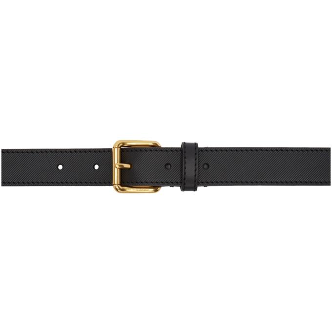 Photo: Burberry Black Thomas Bridle Trench Belt