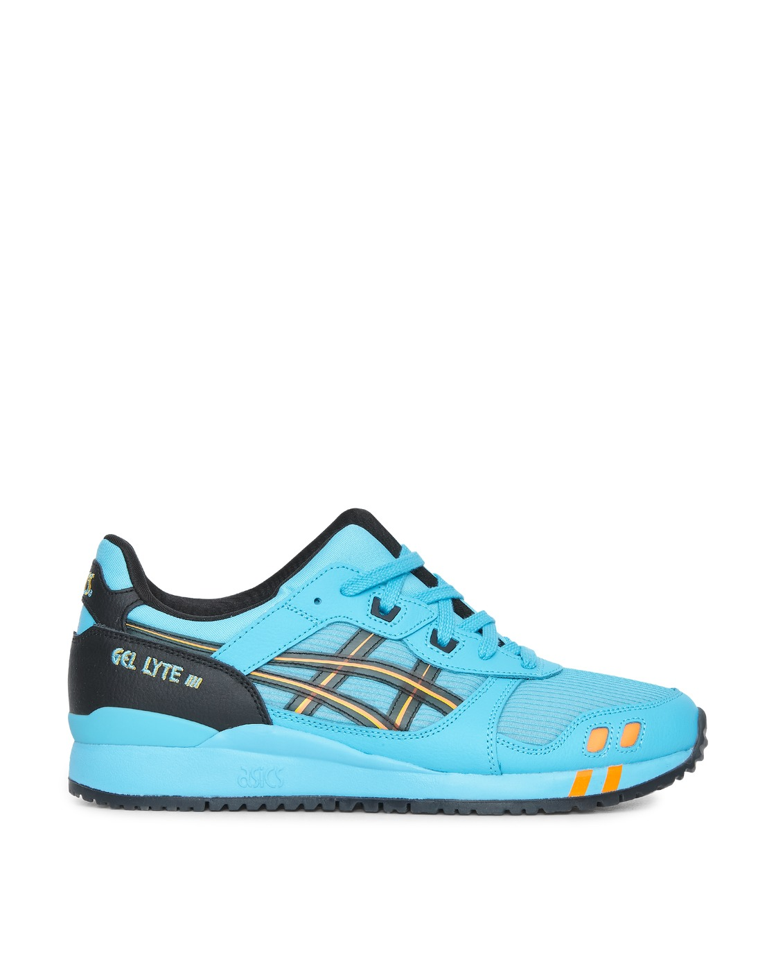 Photo: Asics Gel Lyte Iii Og Sneakers Aquarium/Orange
