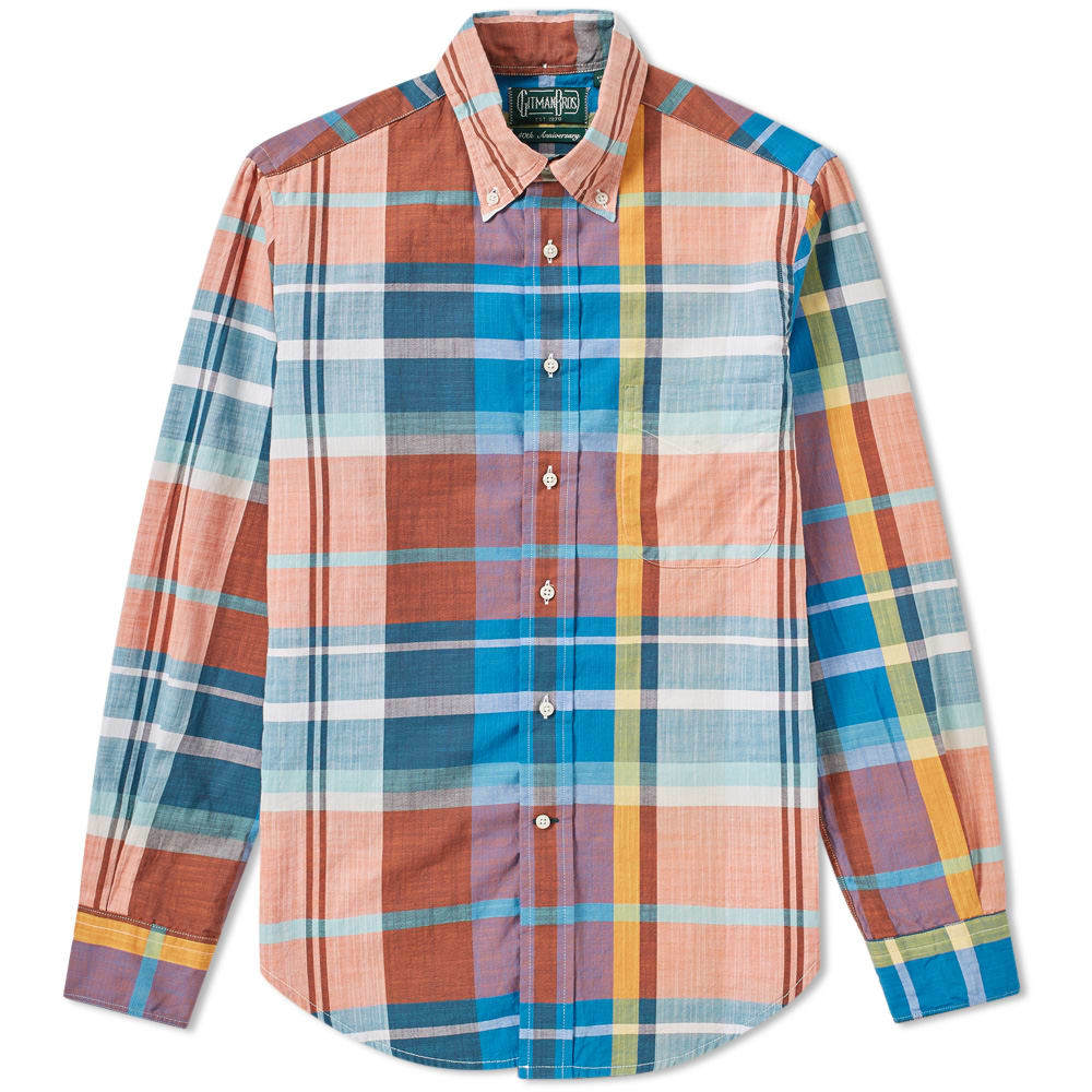 Photo: Gitman Vintage Madras Shirt Multi