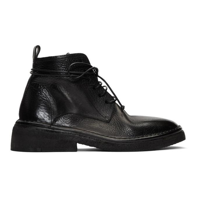 Photo: Marsell Black Burraccia Anfibio Boots