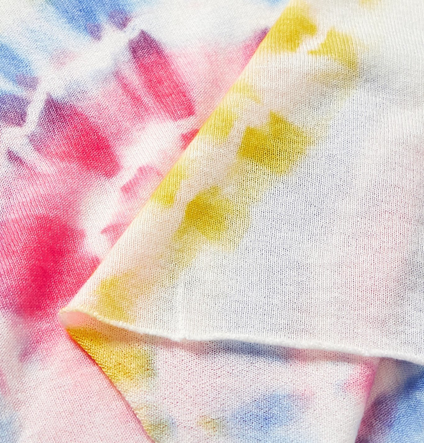 The Elder Statesman - Tie-Dyed Cashmere and Silk-Blend T-Shirt - Multi