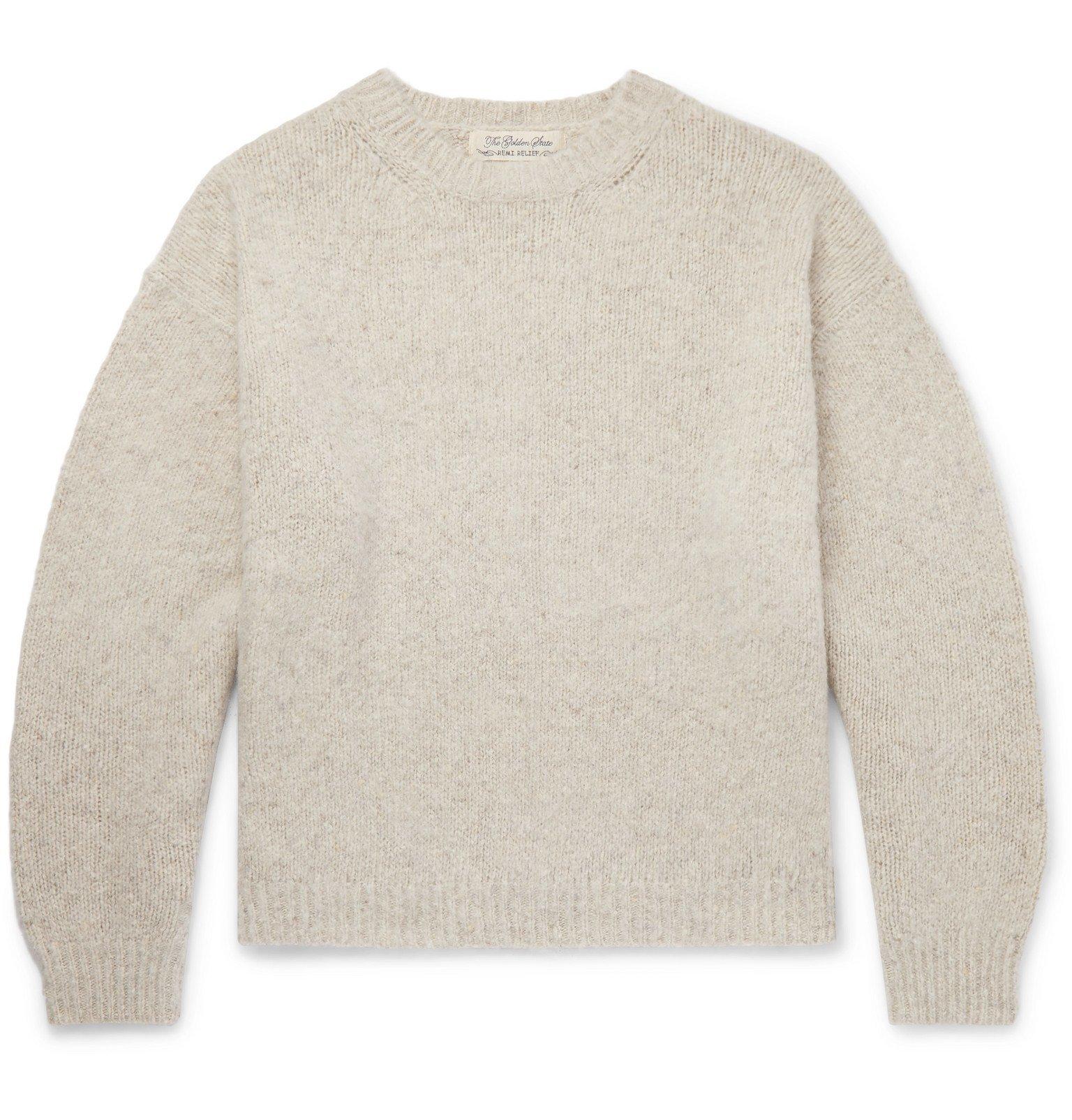 Photo: Remi Relief - Cashmere Sweater - Neutrals