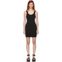 3.1 Phillip Lim Black Rib Knit Dress
