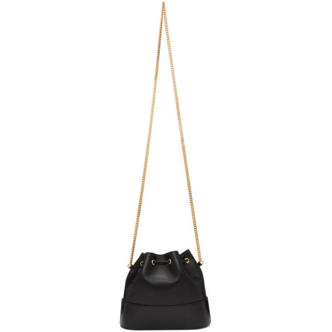 Valentino Black Valentino Garavani VLogo Bucket Bag