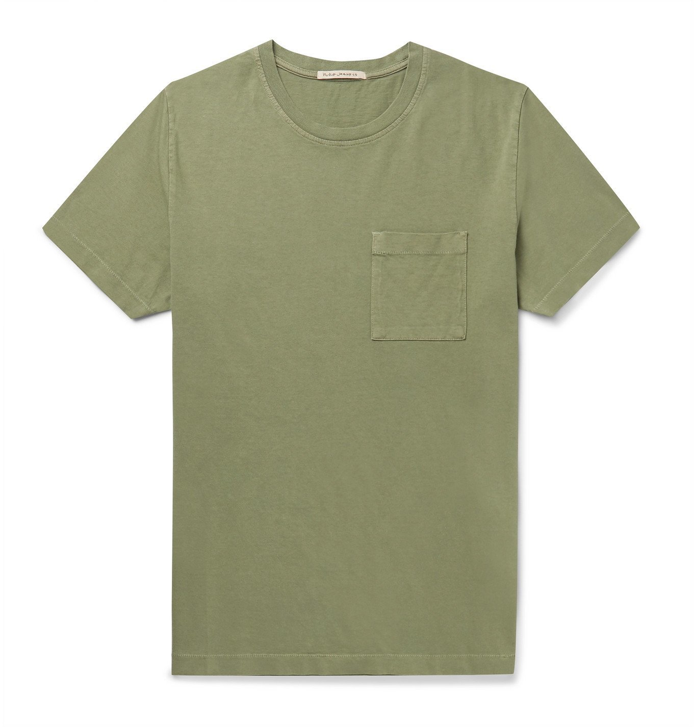 Photo: Nudie Jeans - Roy Cotton-Jersey T-Shirt - Green