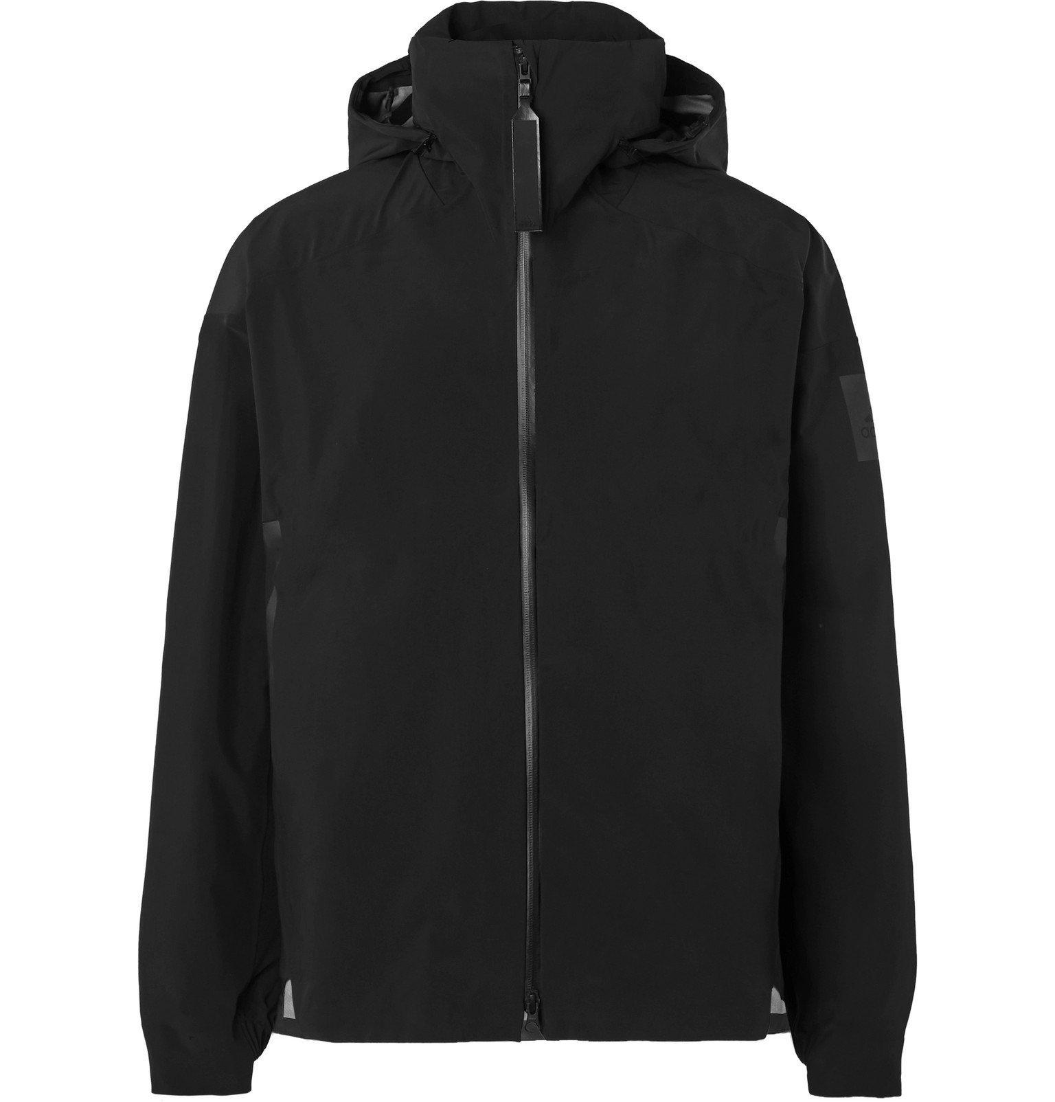 Photo: Adidas Sport - MYSHELTER Nylon-Blend Hooded Jacket - Black