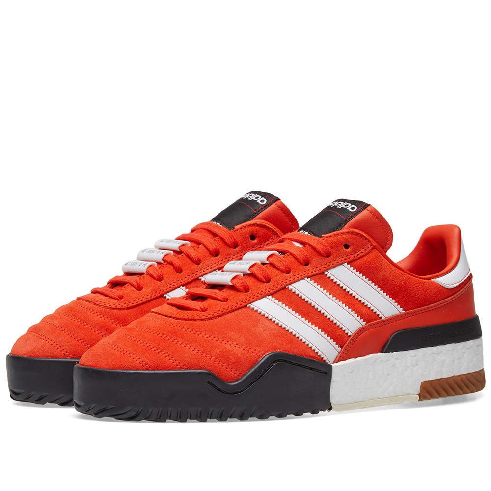 Photo: Adidas Originals by Alexander Wang BBall Soccer Orange