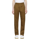 Sunspel Brown Drawstring Trousers