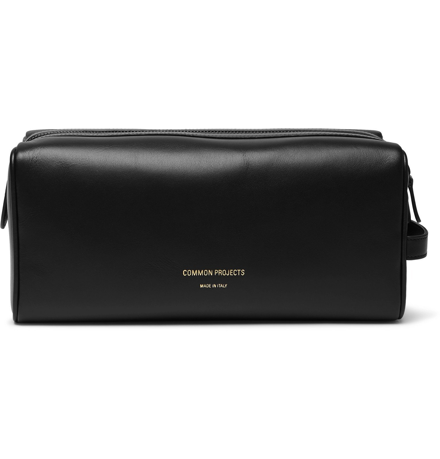 Common Projects - Leather Wash Bag - Black