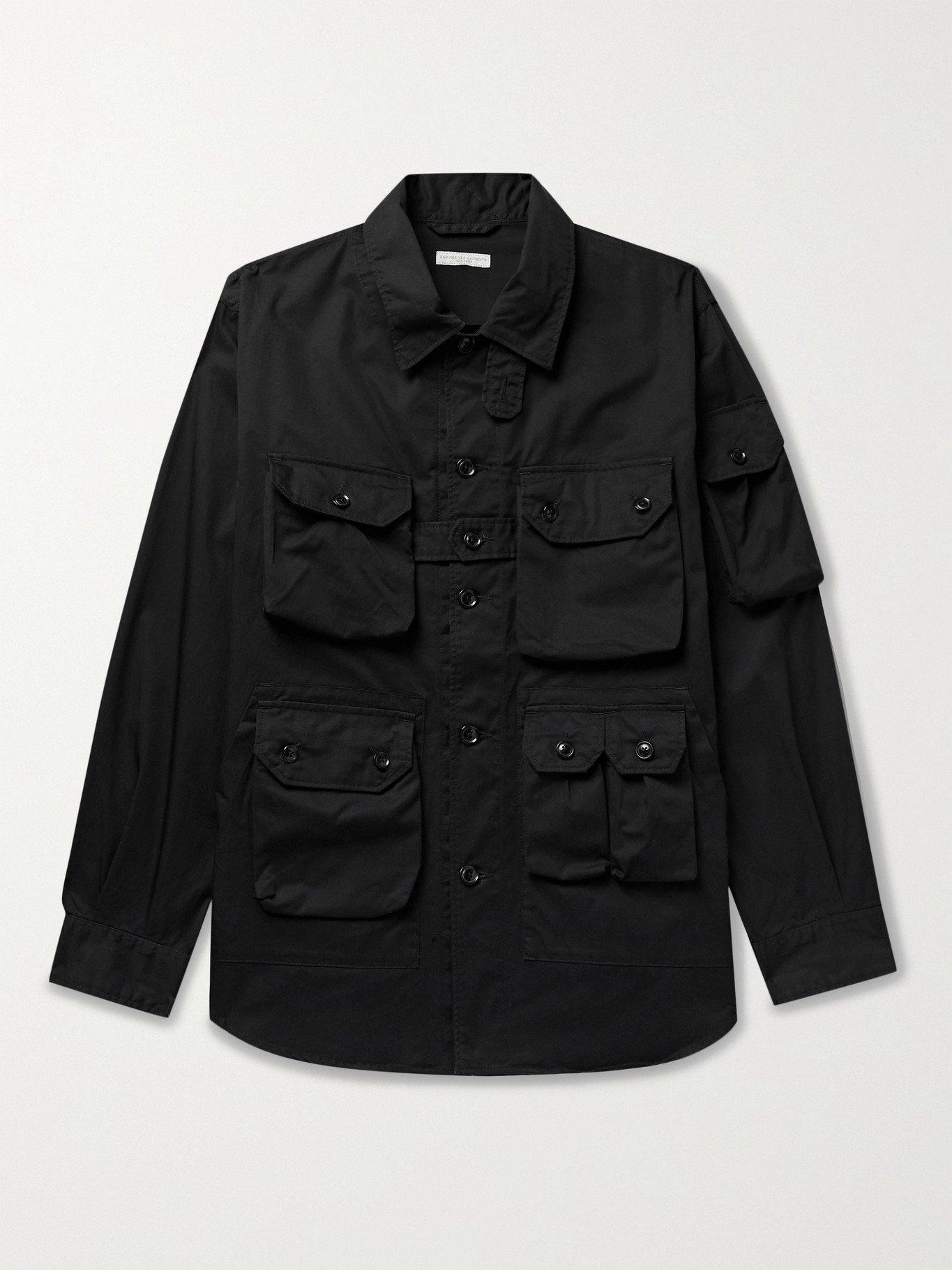Photo: ENGINEERED GARMENTS - Explorer Cotton-Twill Shirt Jacket - Black