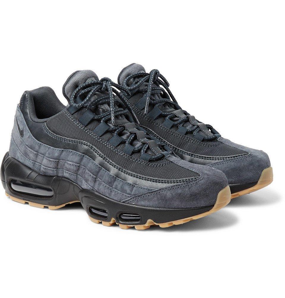air max 95 black leather