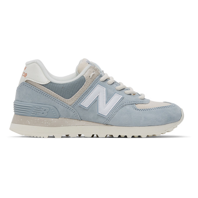 Photo: New Balance Blue 574 Sneakers