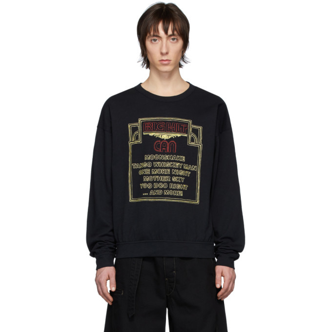 Photo: Lemaire Black Can Edition Big Hit Sweatshirt