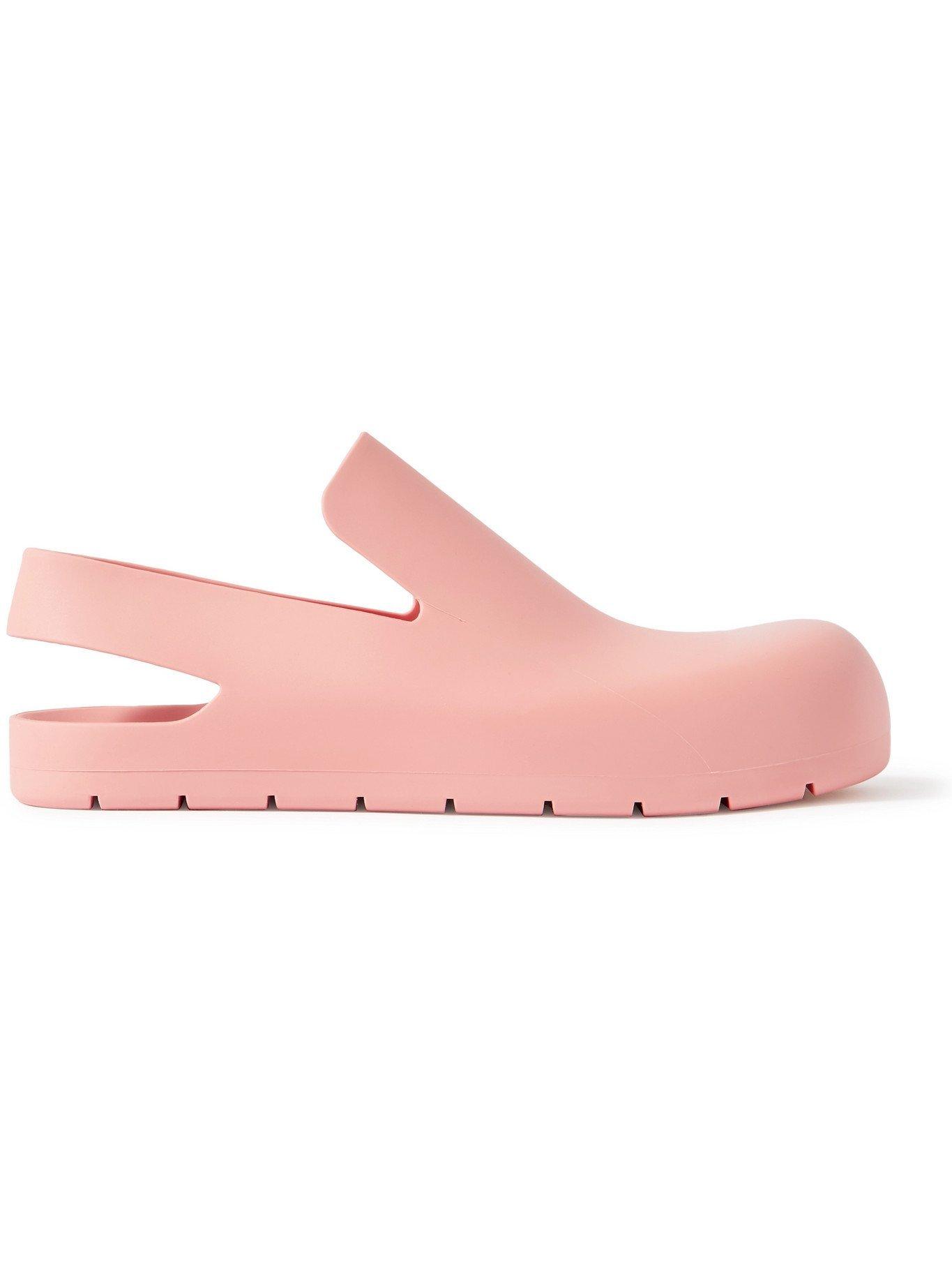 Photo: BOTTEGA VENETA - Rubber Sandals - Pink - EU 41