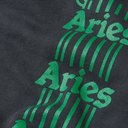 Aries - Logo-Print Fleece-Back Cotton-Jersey Sweatpants - Black