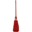 3.1 Phillip Lim Red Mini Odita Modern Lattice Bucket Bag