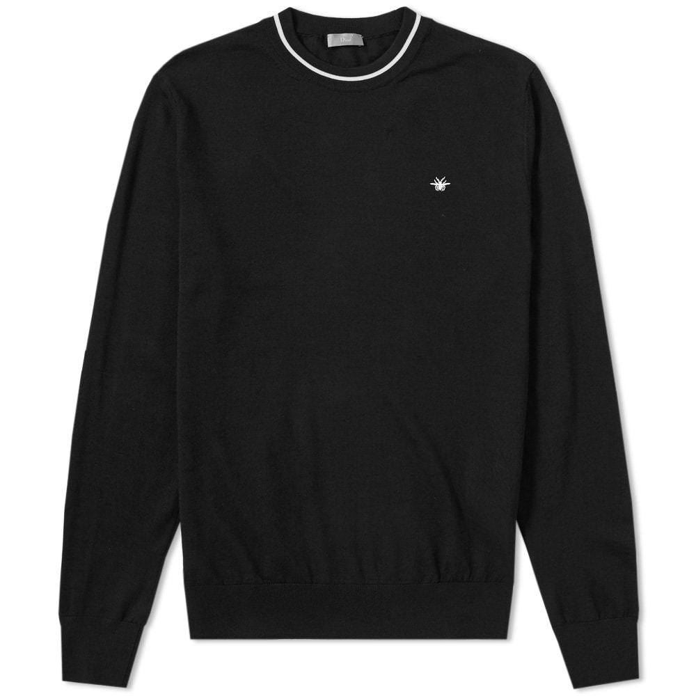 Photo: Dior Homme Taping Crew Neck Knit