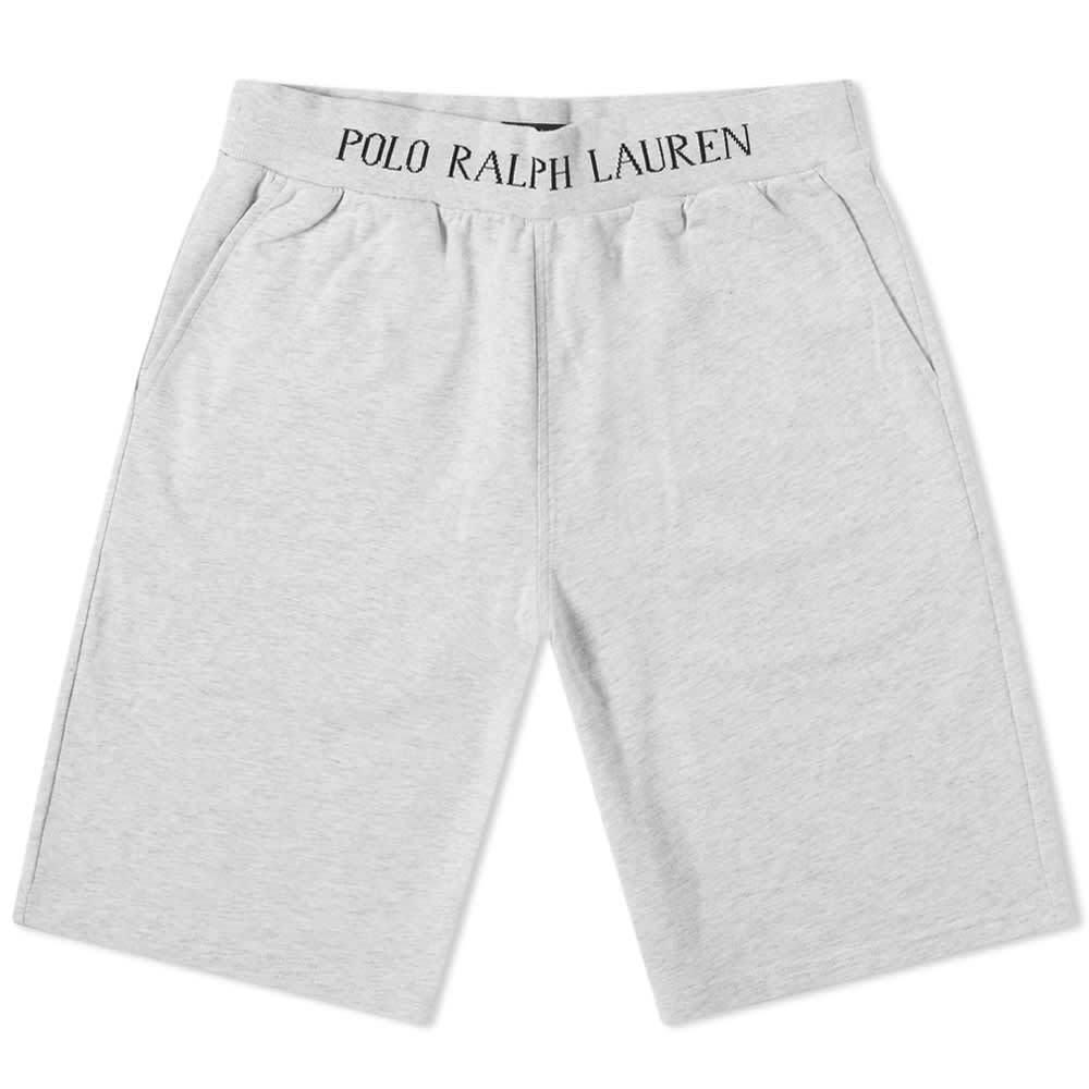 Photo: Polo Ralph Lauren Logo Rib Sleepwear Sweat Short