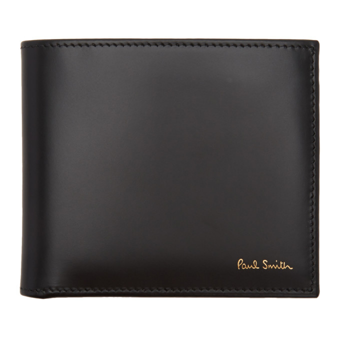Photo: Paul Smith Black Classic Multistripe Bifold Wallet