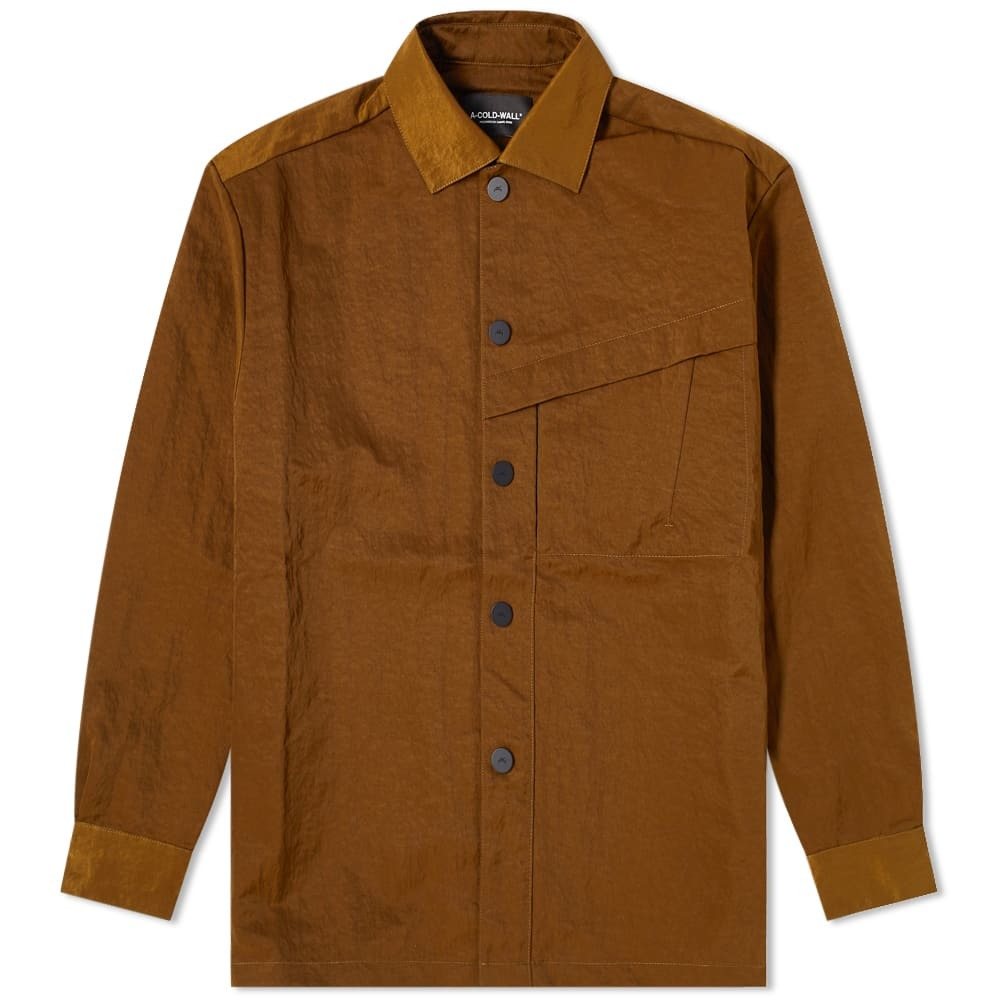 Photo: A-COLD-WALL* Oversized Coach Overshirt