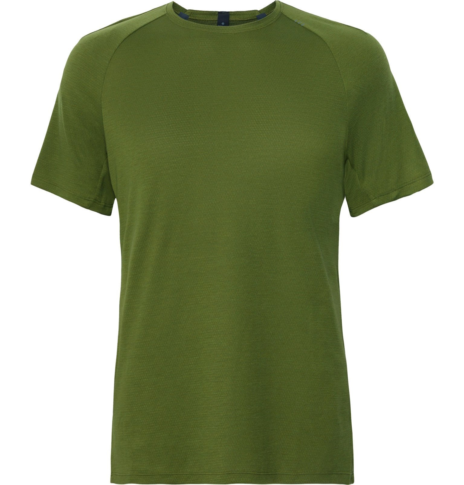 Photo: Lululemon - Conflux Stretch-Jersey T-Shirt - Green