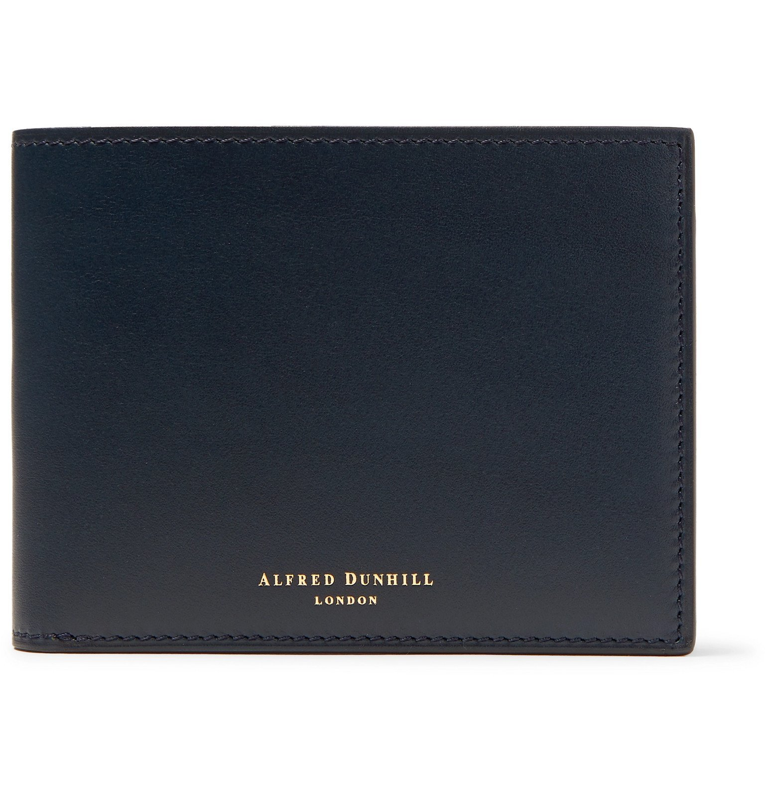 Photo: Dunhill - Duke Leather Billfold Wallet - Blue