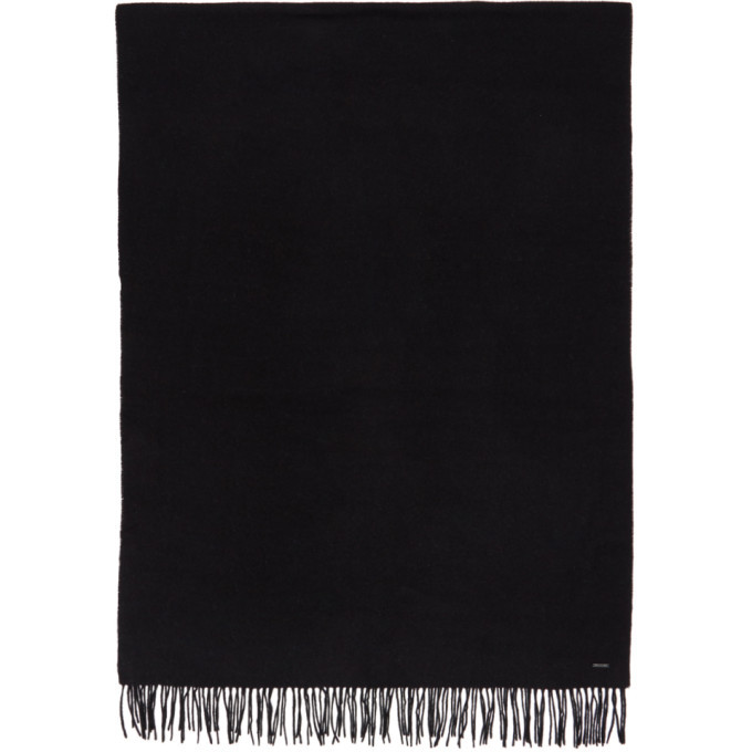 Photo: Boss Black Oversized Lambswool Scarf