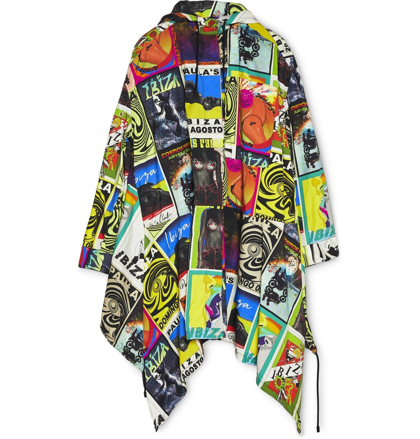 Photo: Loewe - Paula's Ibiza Printed Nylon Hooded Parka - Multi