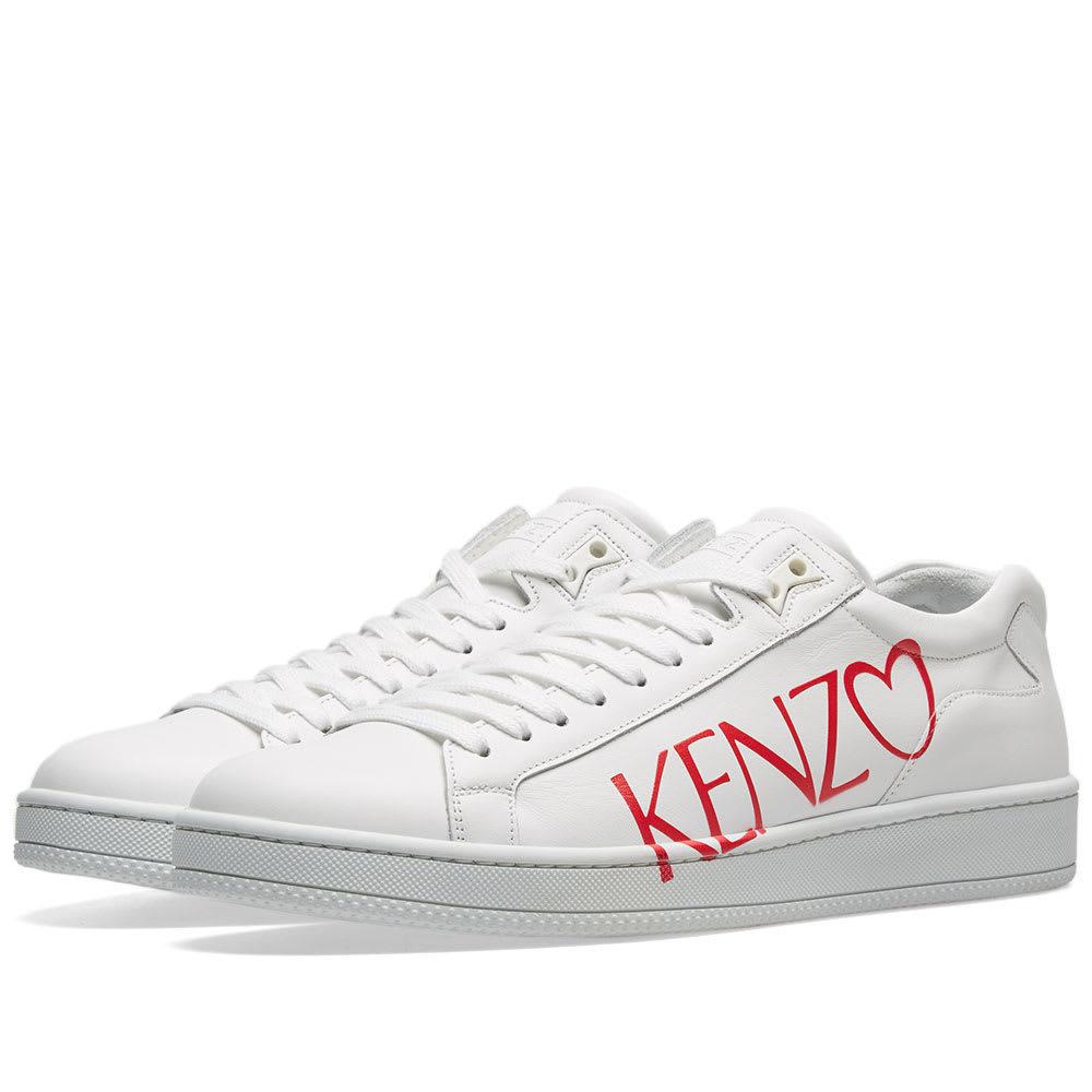 Photo: Kenzo Tennix Valentine's Day Sneaker