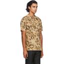 1017 ALYX 9SM Brown Leopard Logo T-Shirt