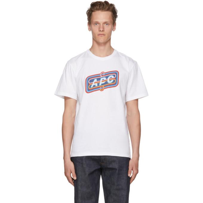Photo: A.P.C. White Bastien T-Shirt