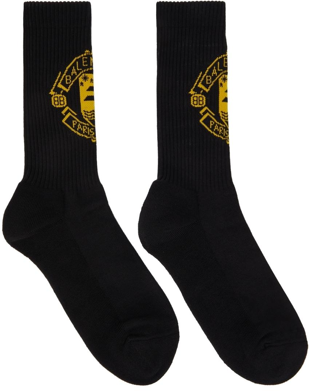 Photo: Balenciaga Black Quest Socks