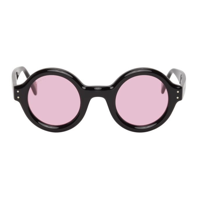 Photo: Gucci Black and Pink GG0871S Sunglasses