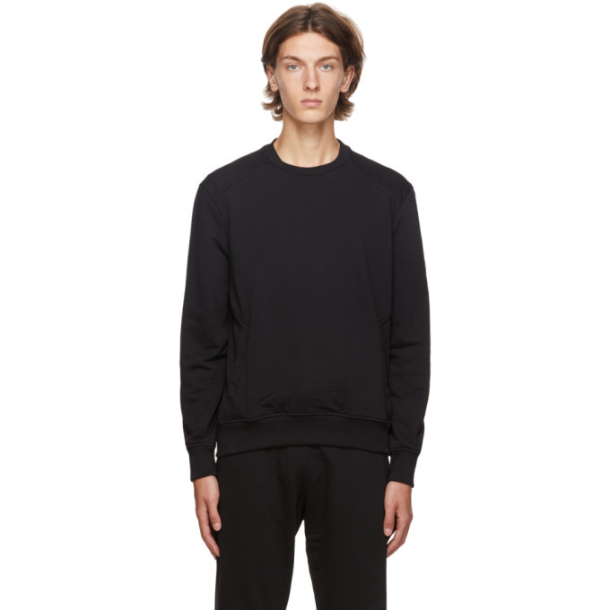 Photo: Ermenegildo Zegna Black Basic Chic Sweatshirt