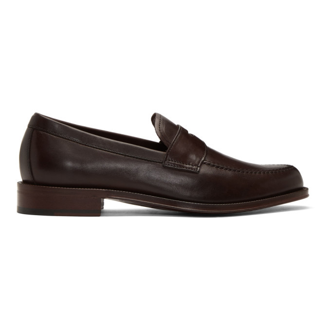 Photo: Paul Smith Burgundy Lowery Loafers