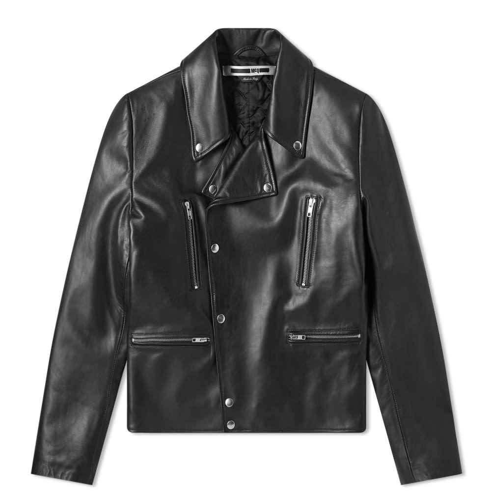 Photo: McQ Alexander McQueen Leather Biker Jacket