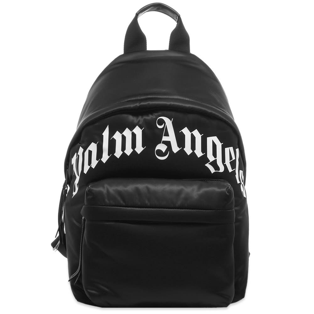 Photo: Palm Angels Curved Logo Backpack