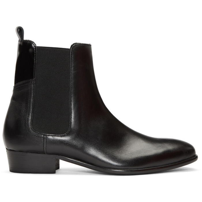 Photo: H by Hudson Black Watts Chelsea Boots