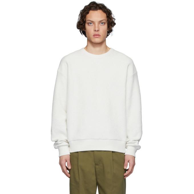 Photo: Dries Van Noten Off-White Hefel Sweatshirt