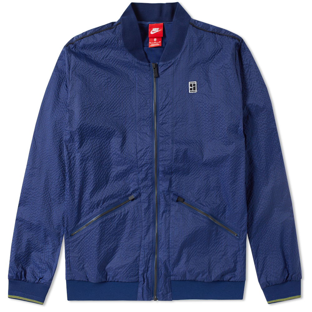Photo: Nike Court Varsity Jacket Blue