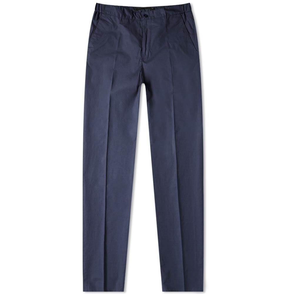 Photo: Incotex Slim Fit Lightweight Drawstring Trouser Navy