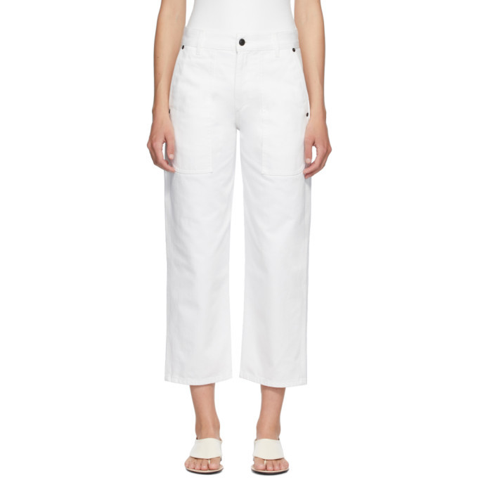 Photo: The Row White Hester Jeans
