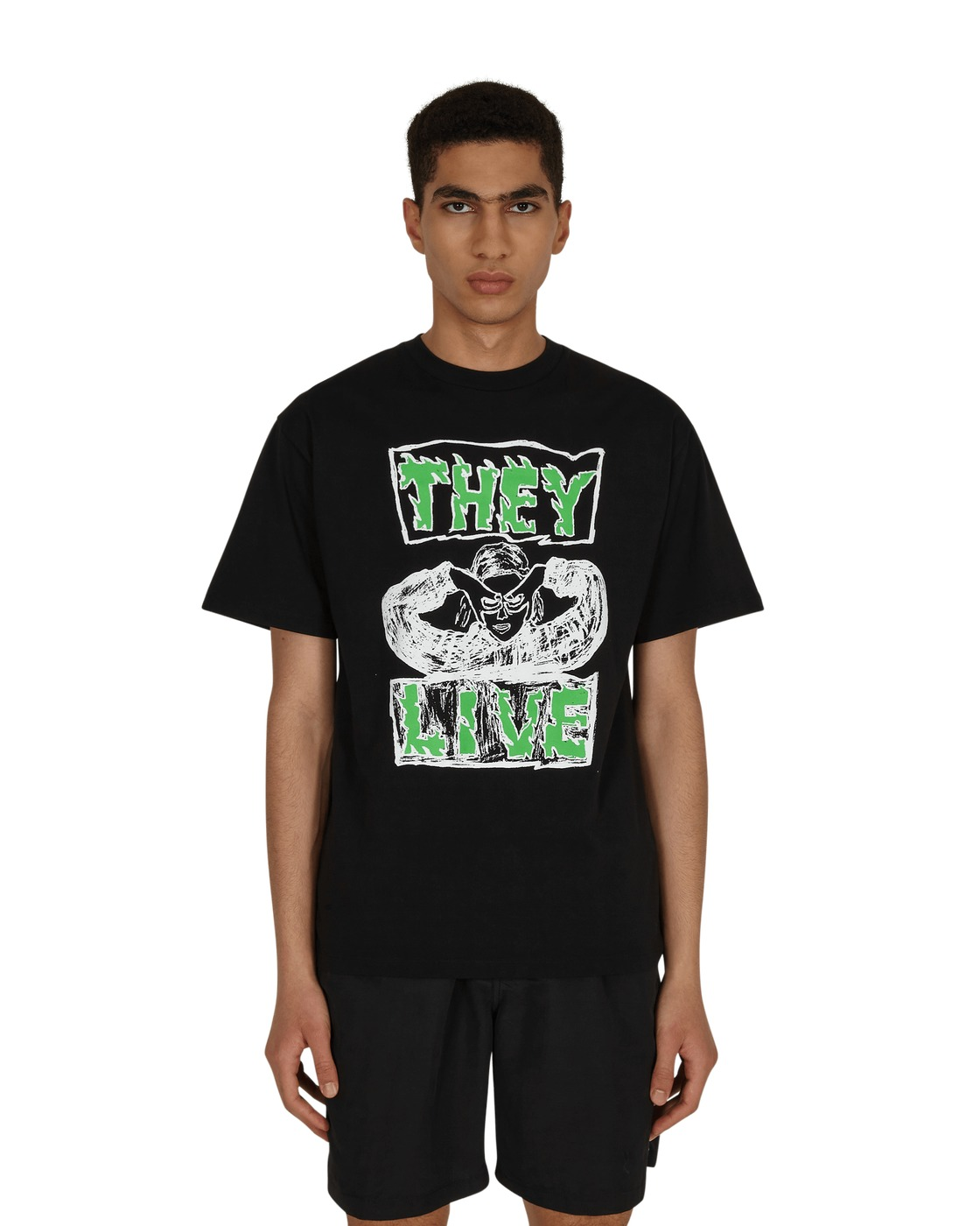 Aries They Live T Shirt Black